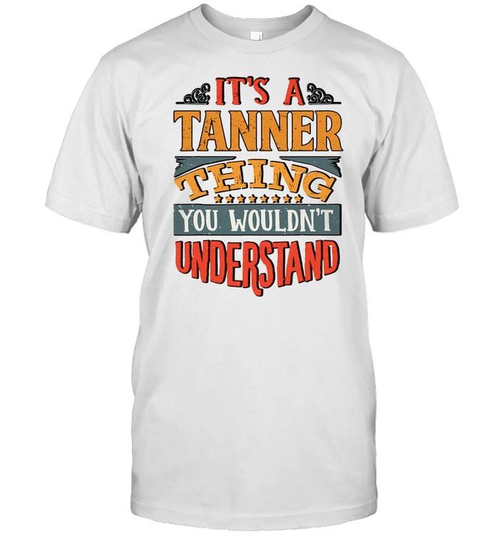 Tanner Name shirt Classic Men's T-shirt