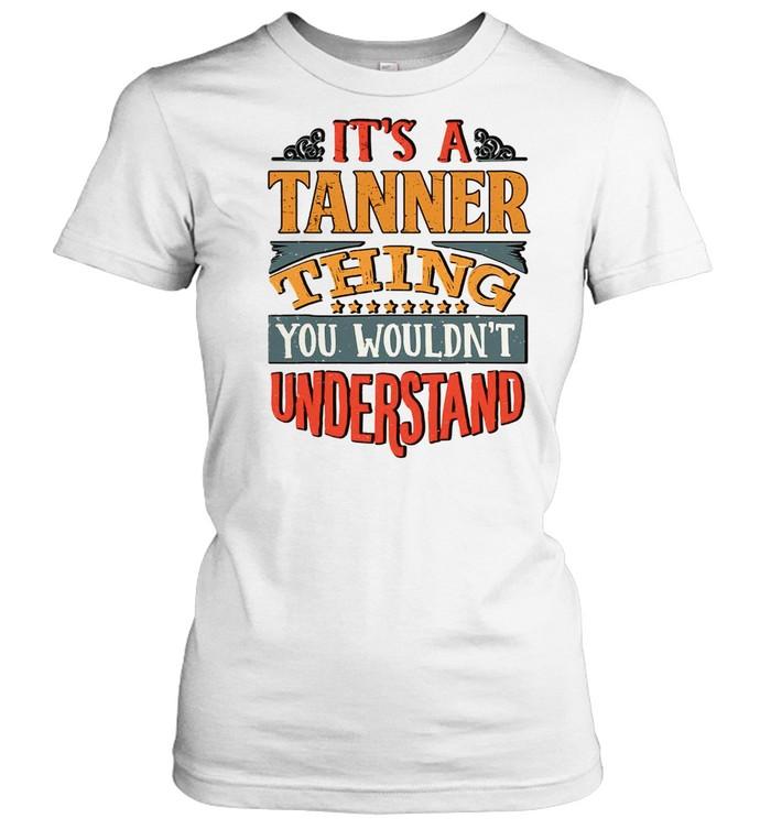 Tanner Name shirt Classic Women's T-shirt