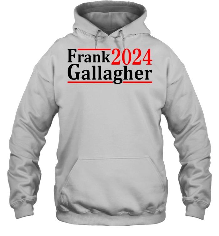 Frank Gallagher 2024 shirt Unisex Hoodie