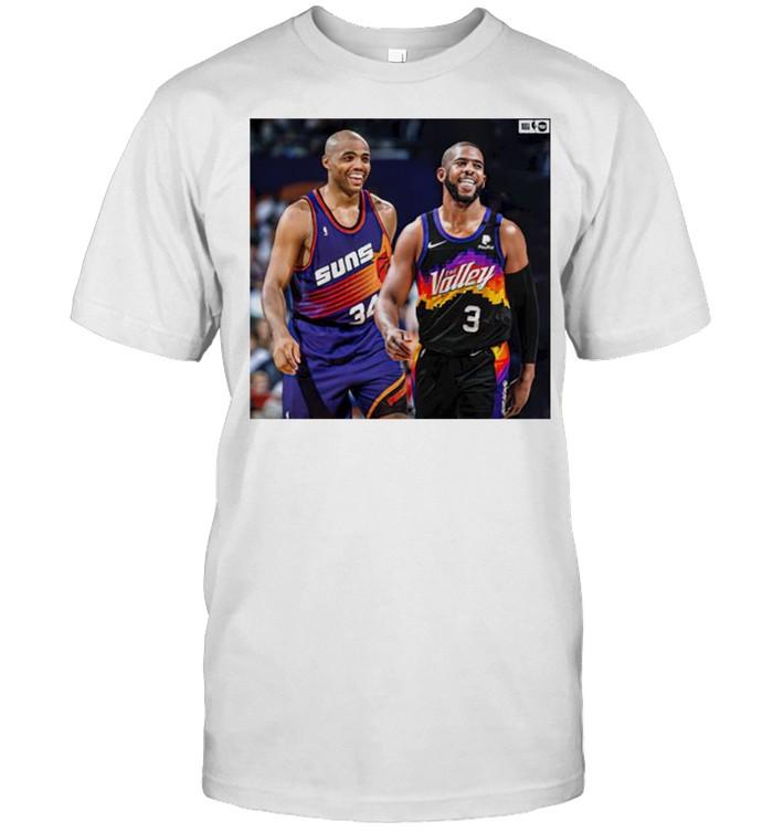 Phoenix Suns Charles Barkley and Chris Paul shirt Classic Men's T-shirt