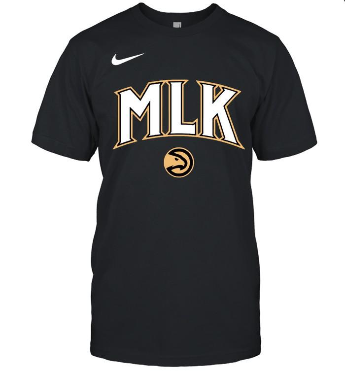 MLK Atlanta Hawks nike shirt Classic Men's T-shirt
