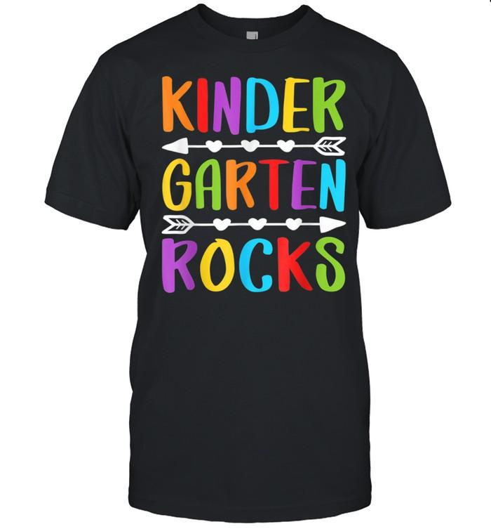 Kindergarten Rocks Back To School Teacher shirt Classic Men's T-shirt