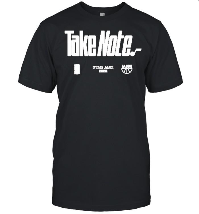 Utah Jazz 2021 Basketball Playoffs Bound Mantra shirt Classic Men's T-shirt