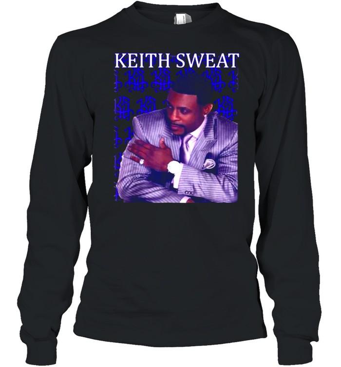 Vintage Keiths Art Sweats Music Legend 80s 90s T- Long Sleeved T-shirt