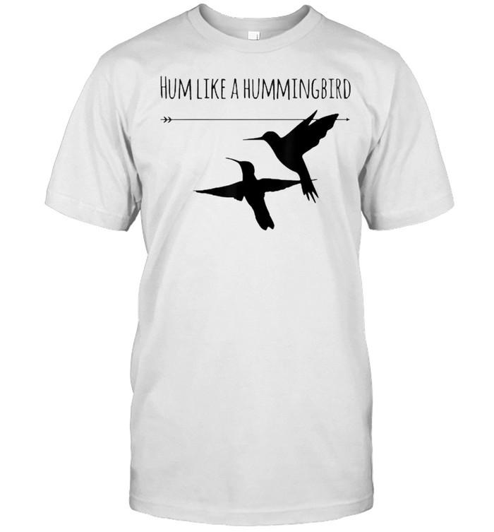Hum Like a Hummingbird  Classic Men's T-shirt
