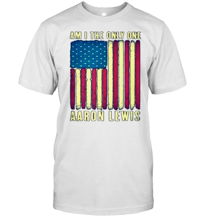 Am I The Only One Aaron Lewis American Flag Vintage T- Classic Men's T-shirt