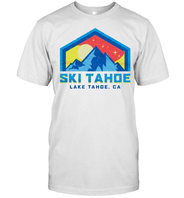 Lake Tahoe California Ski Tahoe shirt Classic Men's T-shirt