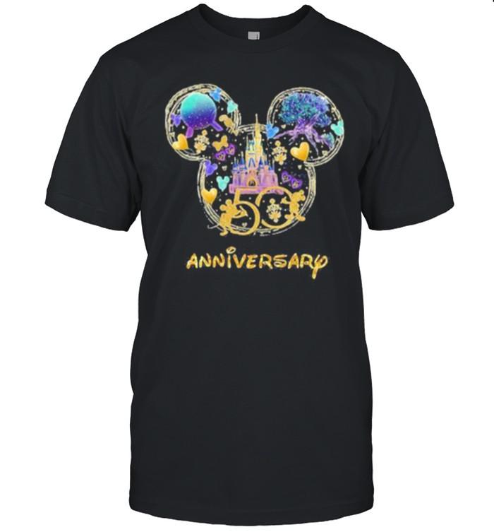 50 years anniversary disney shirt Classic Men's T-shirt