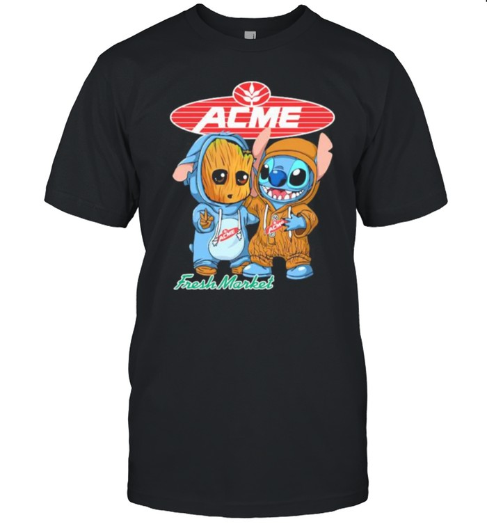 Acme Fress Market Stick And Tha War  Classic Men's T-shirt