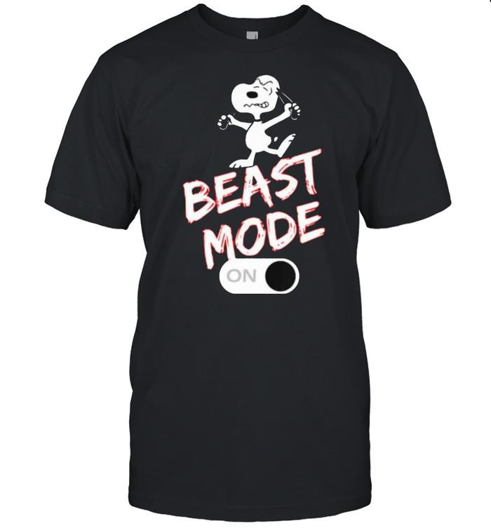 Beast Mode On Snoopy shirt Classic Men's T-shirt