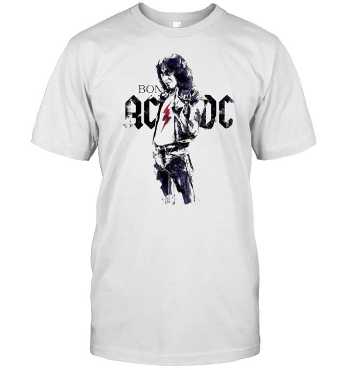 Bon scott ac dc band music shirt Classic Men's T-shirt