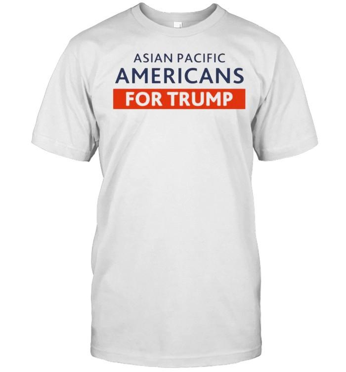 Asian pacific Americans for Trump shirt Classic Men's T-shirt