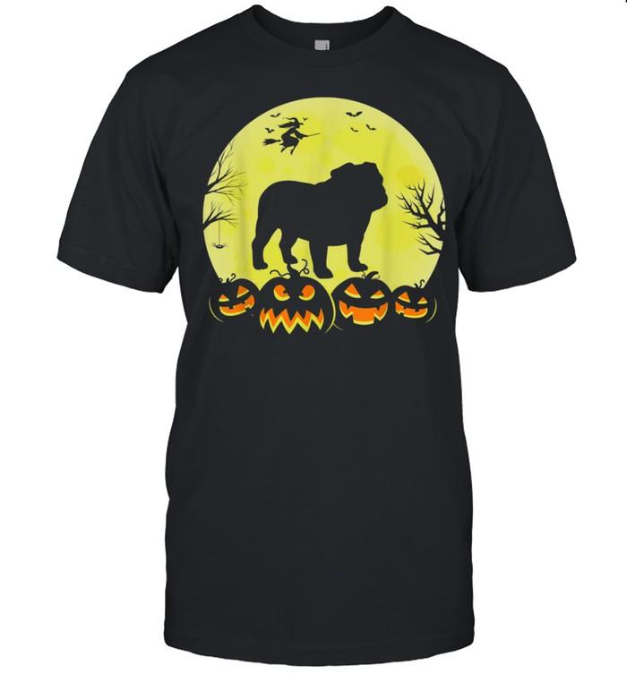 Halloween Costume Dogs Cute English Bulldog shirt Classic Men's T-shirt