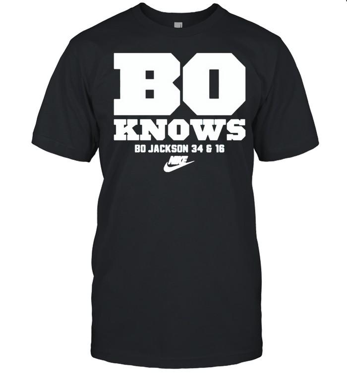 Bo Jackson Nike bo knows shirt Classic Men's T-shirt
