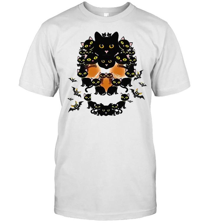 Cat Shape Of Skull shirt Classic Men's T-shirt