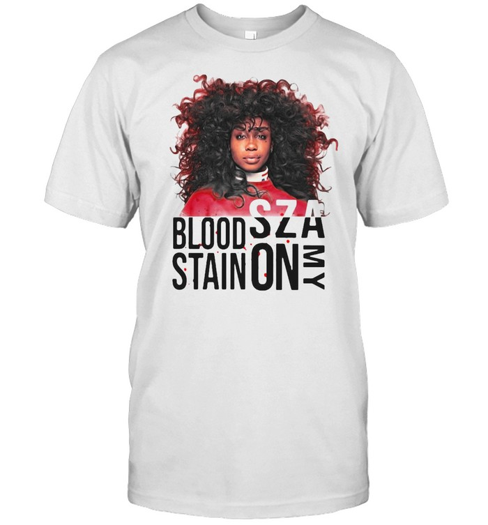 Sza Blood Stain On My T-shirt Classic Men's T-shirt