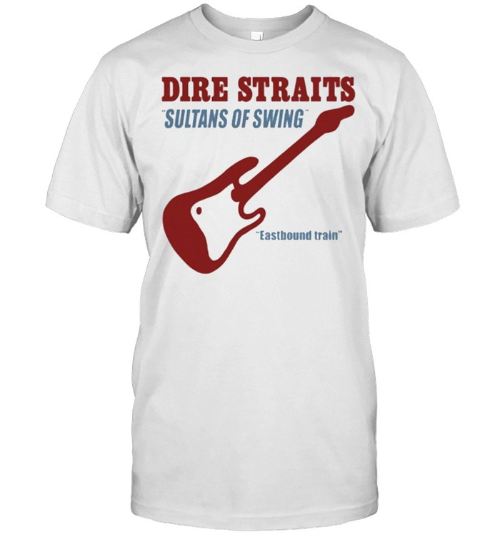 Dire straits sultans of swing eastbound train shirt Classic Men's T-shirt