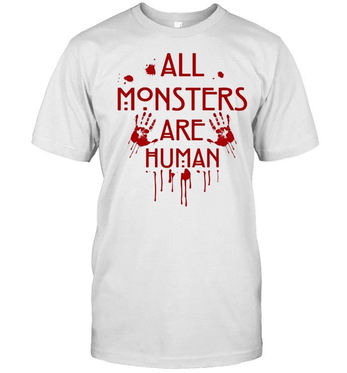 All monsters are human shirt Classic Men's T-shirt