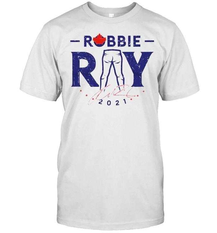 Toronto Blue Jays Robbie Ray 2021 signature shirt Classic Men's T-shirt