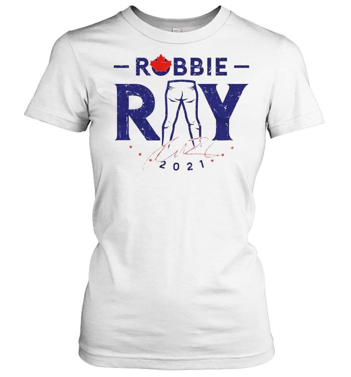 Toronto Blue Jays Robbie Ray 2021 signature shirt Classic Women's T-shirt