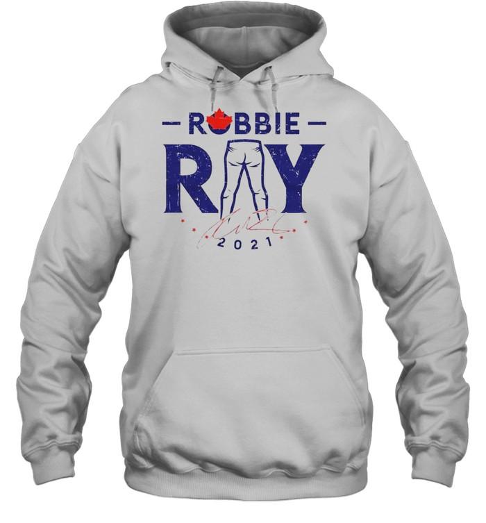 Toronto Blue Jays Robbie Ray 2021 signature shirt Unisex Hoodie