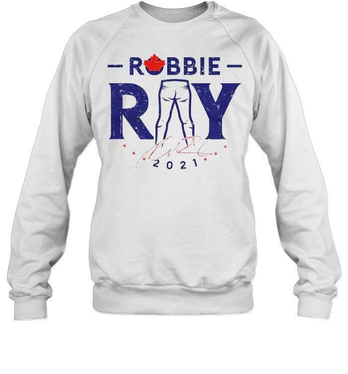 Toronto Blue Jays Robbie Ray 2021 signature shirt Unisex Sweatshirt
