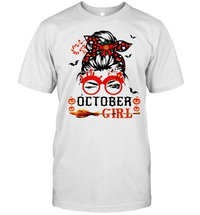 Queens of Halloween October girl shirt Classic Men's T-shirt