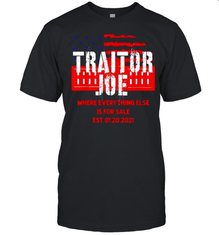 Traitor Joe's Sleepy Joe Anti-Biden Tee  Classic Men's T-shirt