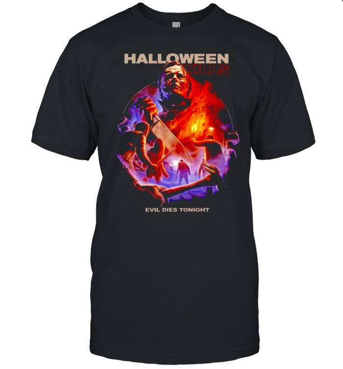 Michael Myers halloween kills evil dies tonight shirt Classic Men's T-shirt