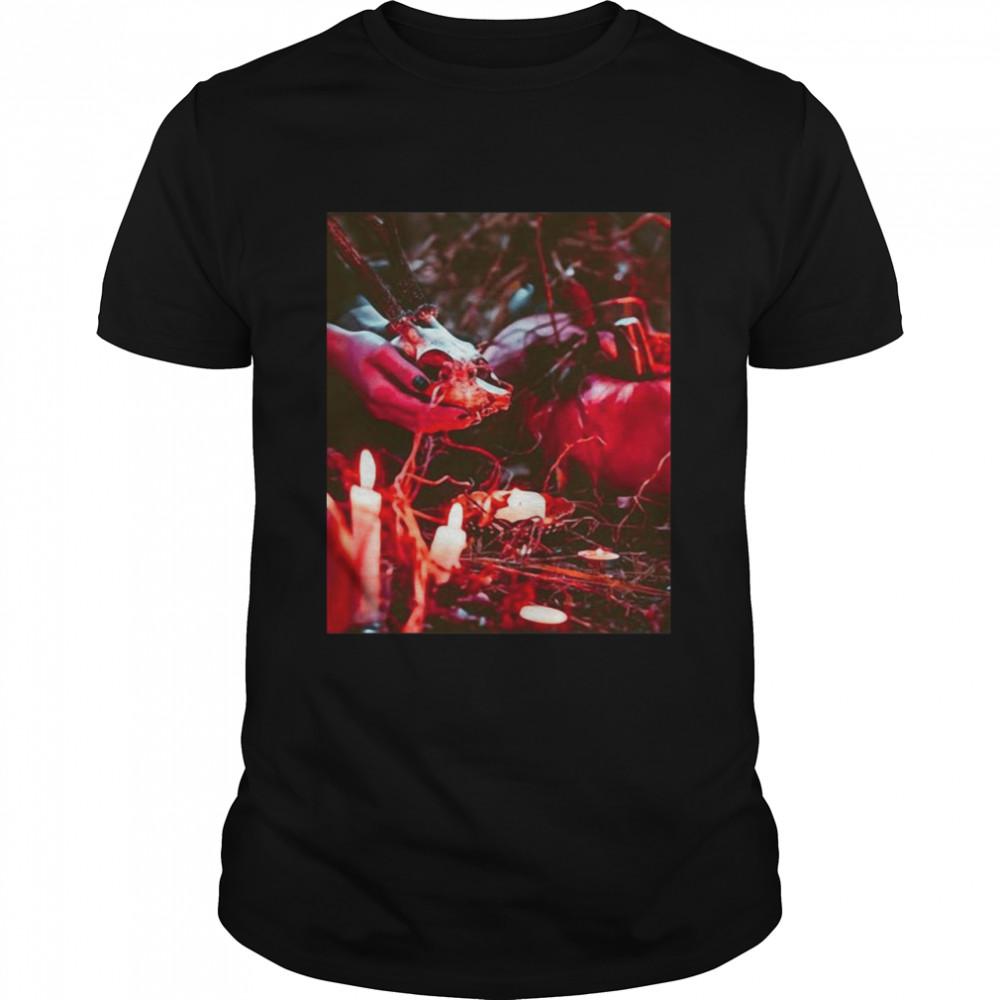 Jack O Lantern Halloween Horror Night T-shirt Classic Men's T-shirt