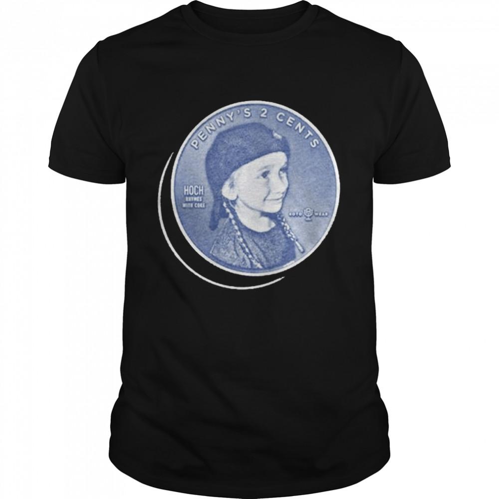 Penny's 2 Cents shirt Classic Men's T-shirt