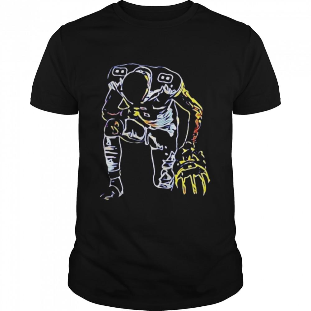 Ronnie Bell kneel shirt Classic Men's T-shirt