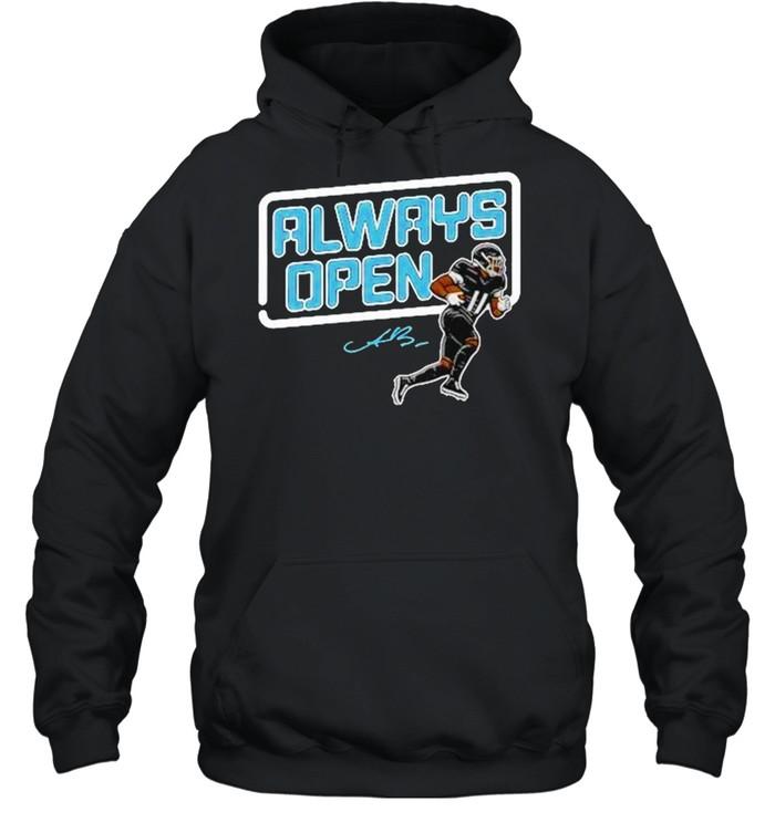 Aj Brown Always open t-shirt Unisex Hoodie
