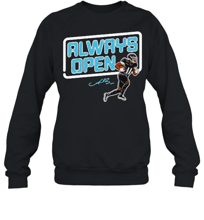 Aj Brown Always open t-shirt Unisex Sweatshirt