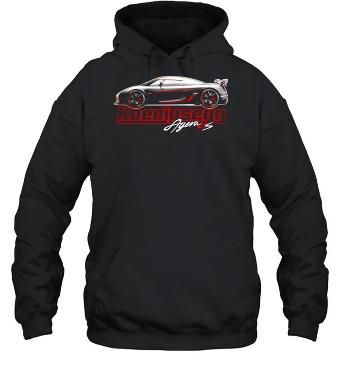 Argen Rs Koenigsegg Sports car shirt Unisex Hoodie