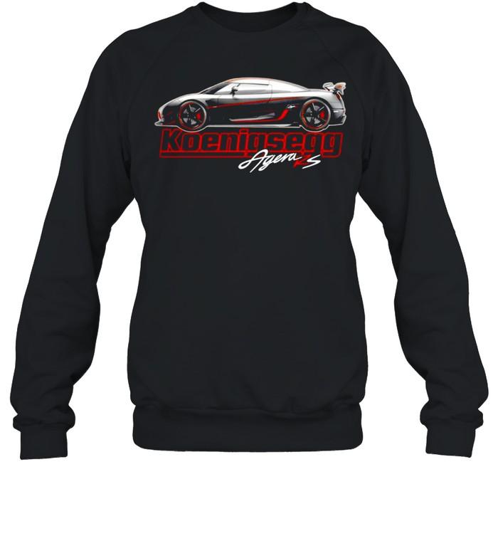 Argen Rs Koenigsegg Sports car shirt Unisex Sweatshirt