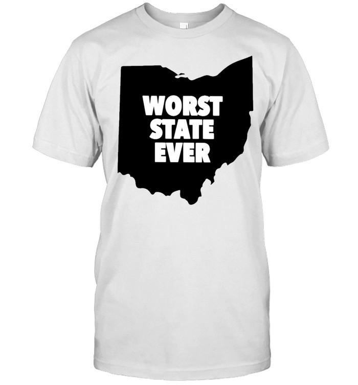 Ohio Worst State ever shirt Classic Men's T-shirt