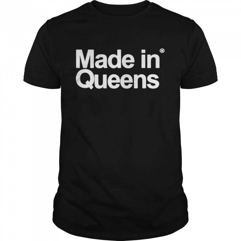 Make in queens jelanI cobb shirt Classic Men's T-shirt