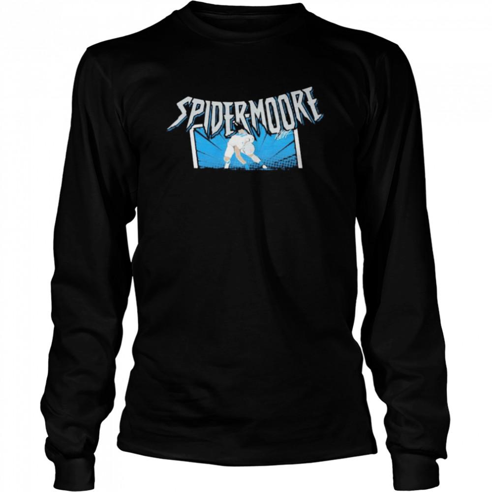 D.J. Moore spider-moore shirt Long Sleeved T-shirt
