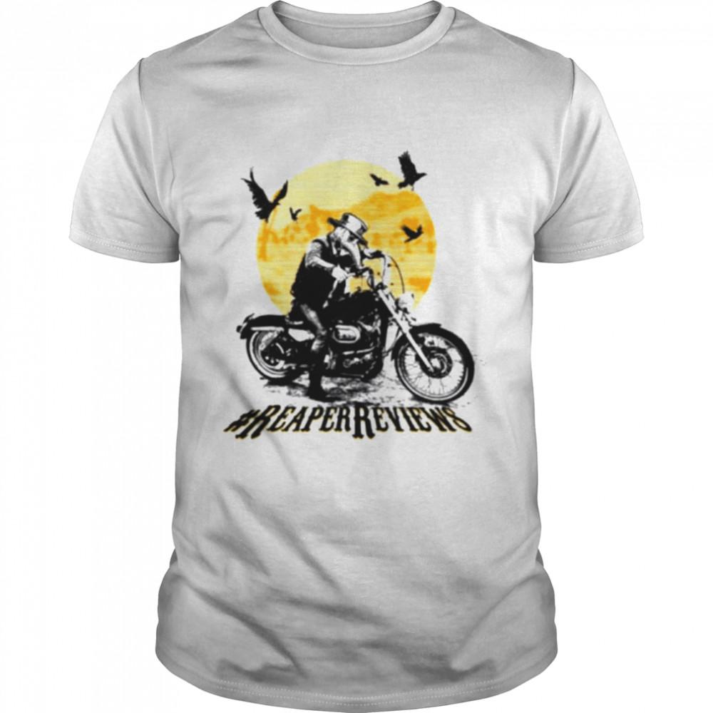 Theory Samfam Reaper reviews Halloween shirt Classic Men's T-shirt