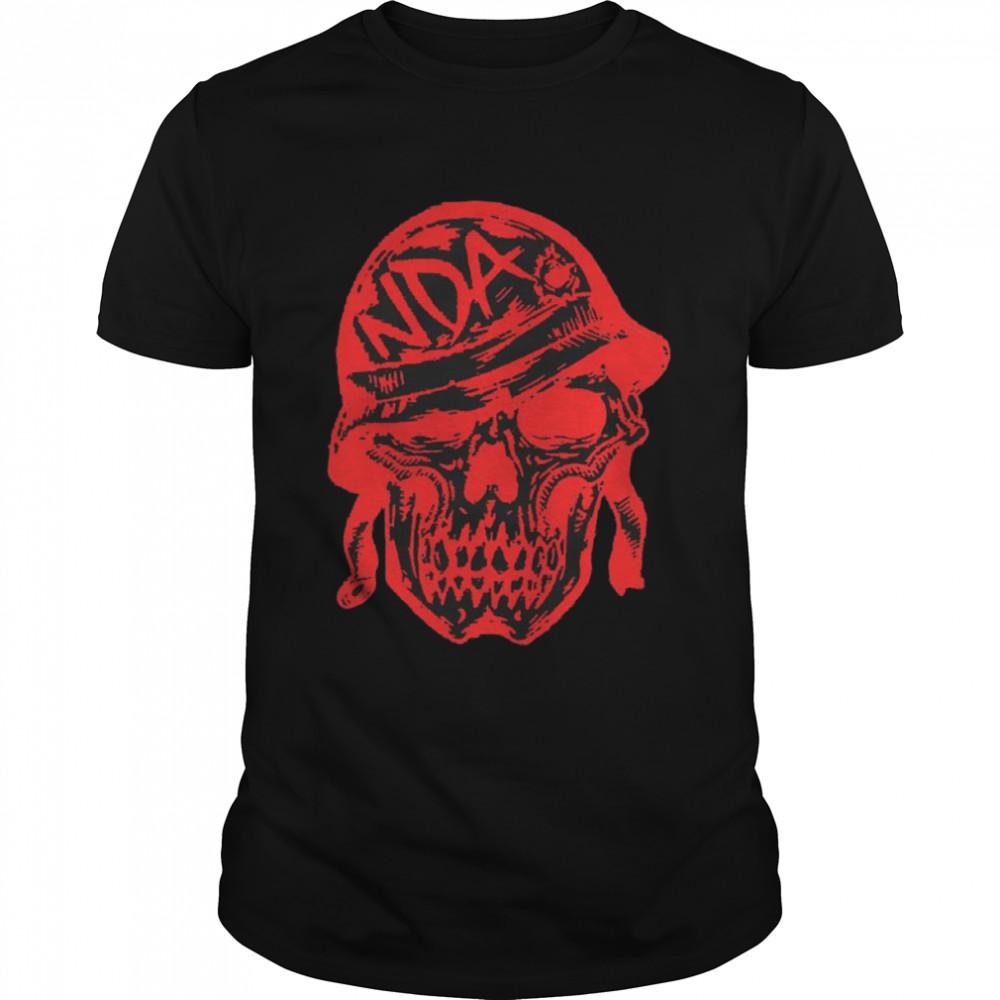 Nda Helmet Skull T-shirt Classic Men's T-shirt
