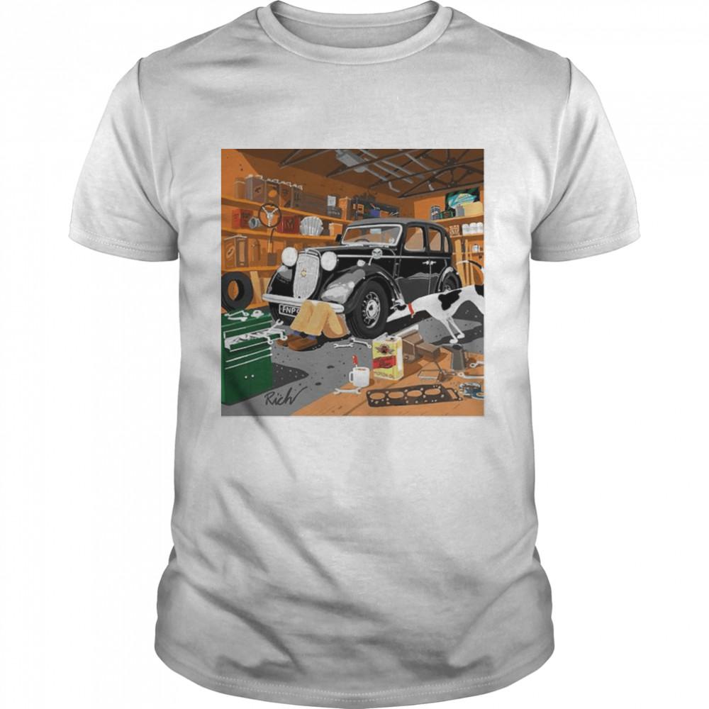 The Garage Superviso shirt Classic Men's T-shirt