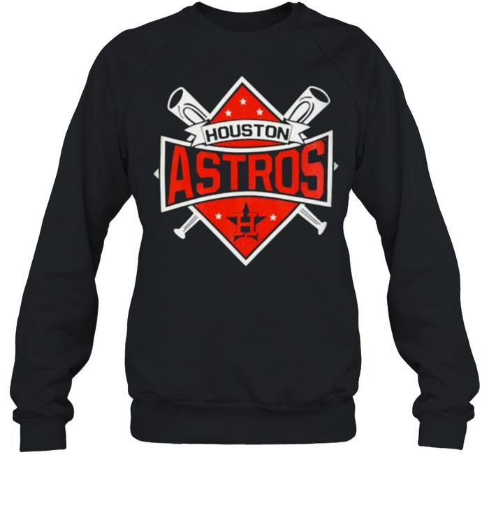 houston Astros Toddler Diamond Bats 2021 shirt Unisex Sweatshirt