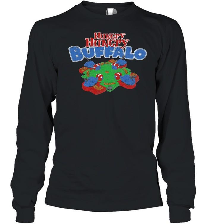 Hungry hungry buffalo shirt Long Sleeved T-shirt