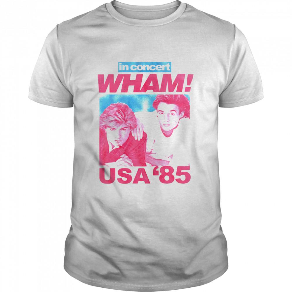'85 USA Concert Wham T-Shirt