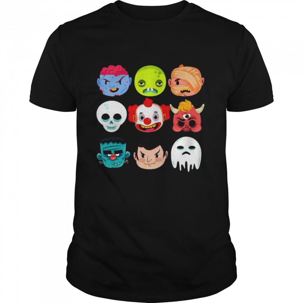 Halloween Scary Costume Shirt