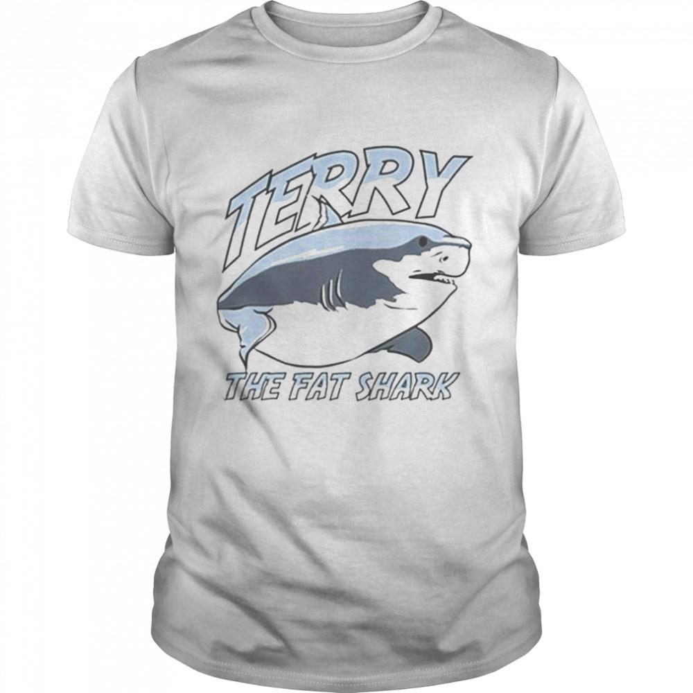 Terry the fat shark shirt