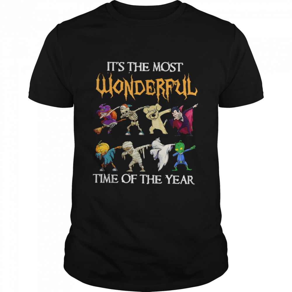 It's Most Wonderful Time of The Year Halloween Christmas T- Classic Men's T-shirt