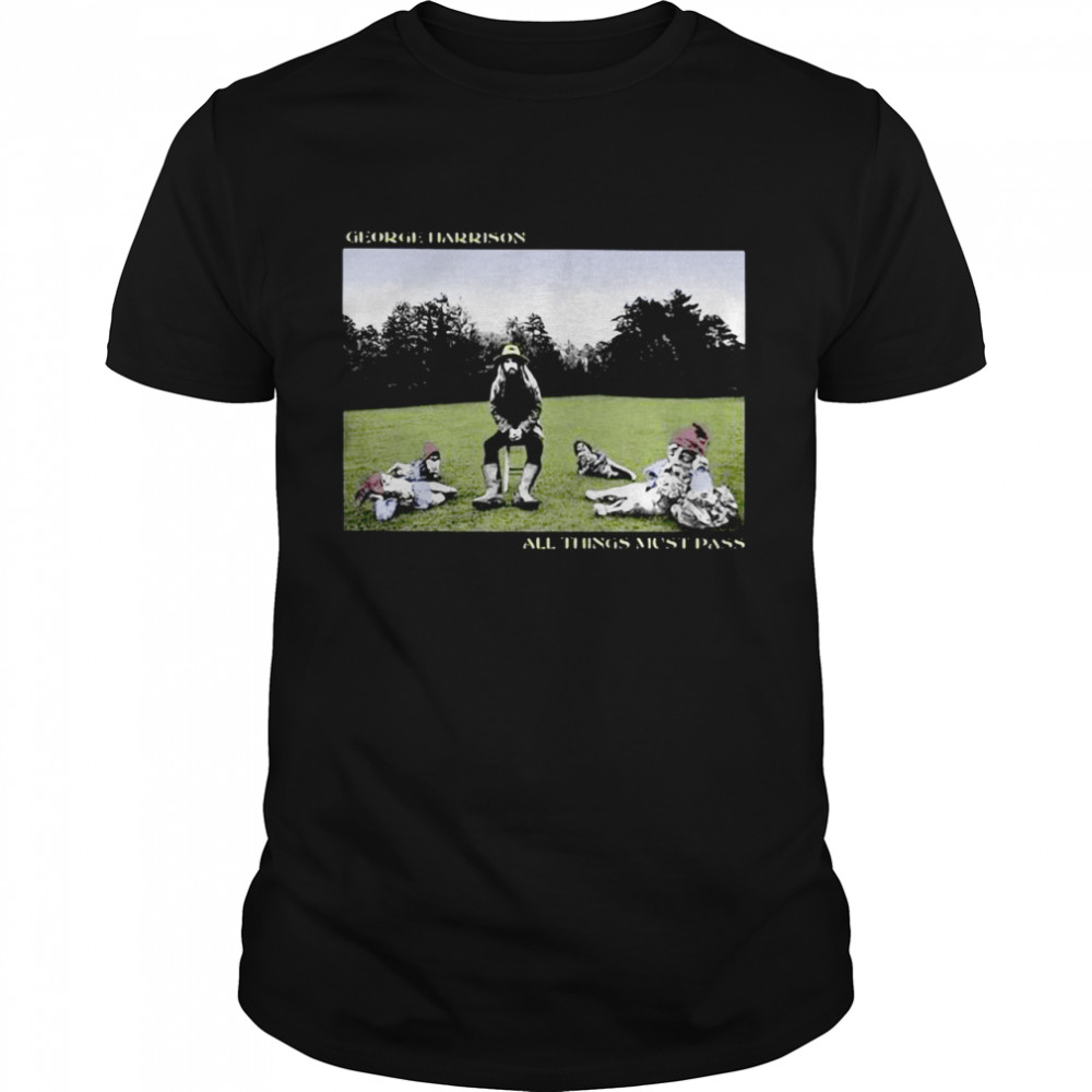 George Harrison All Things Must Pass Shirt
