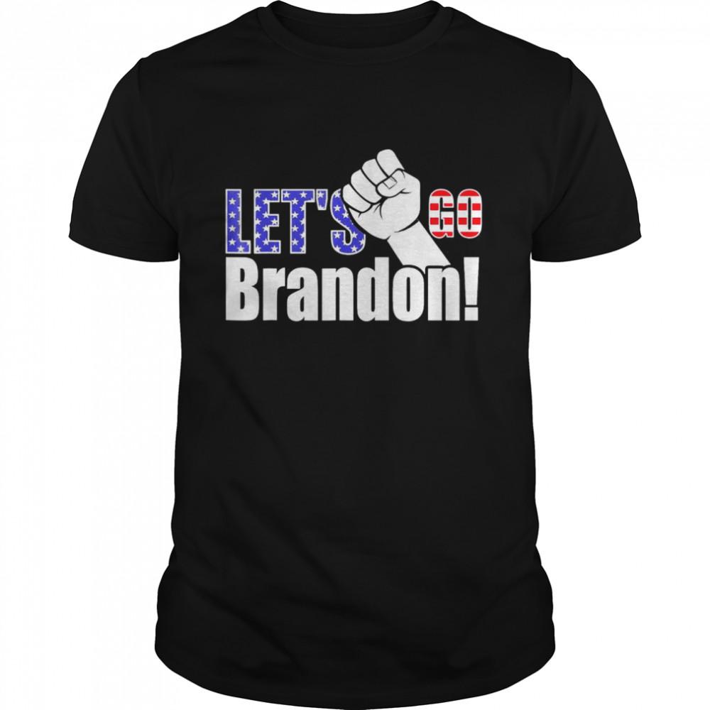 Let's Go Brandon American Chant Anti Liberal Usa T-Shirt